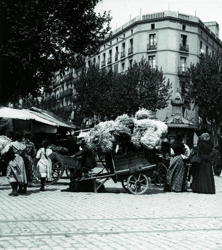 Parades i carros dels Encants de Sant Antoni (1910-1915)