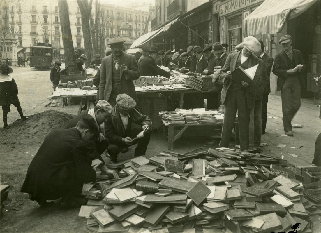 Mercat Dominical del Llibre de Sant Antoni (1915)
