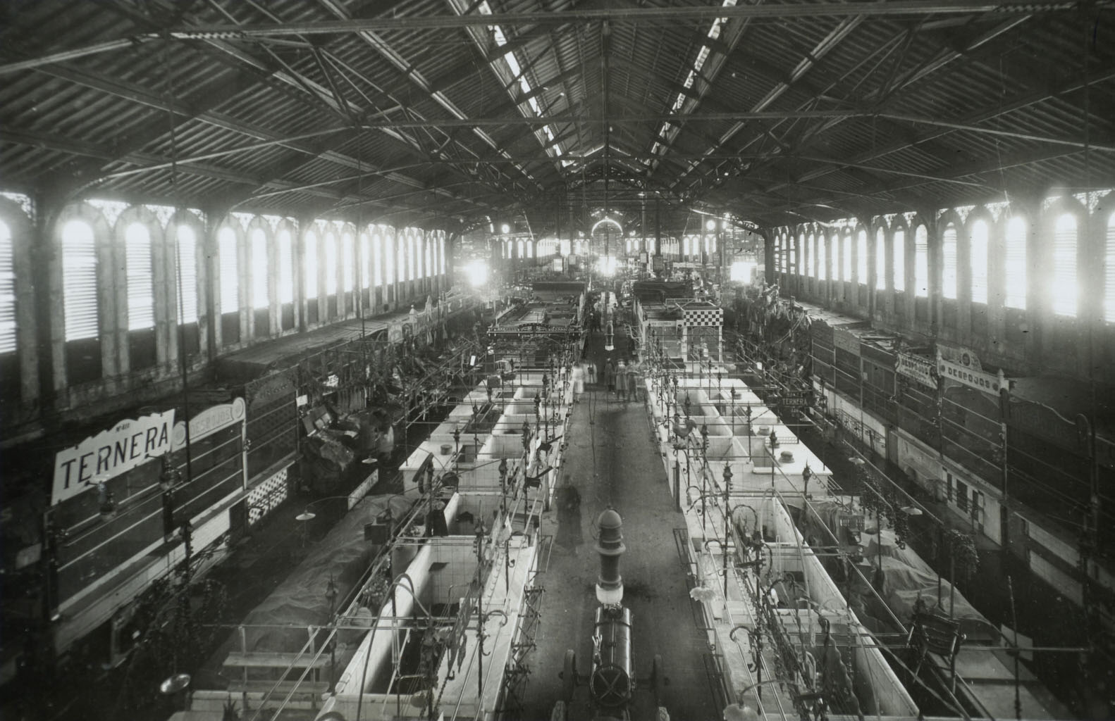Interior del Mercat de Sant Antoni (1930-1934)