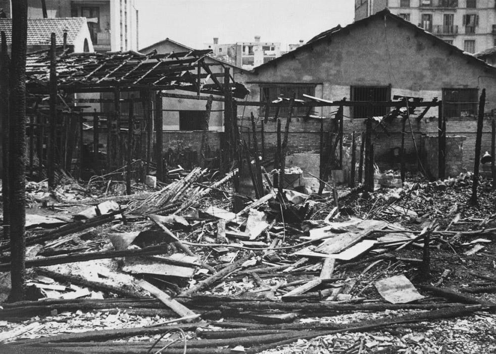 Incendi en un magatzem dels encants (1936)