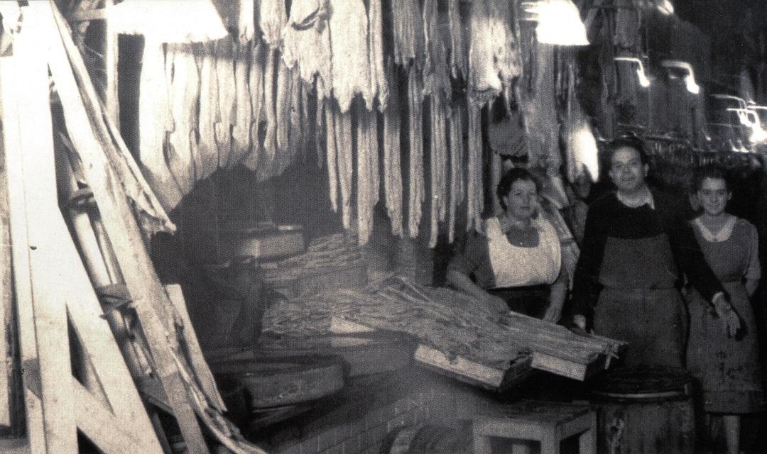 Bacallaneria Masclans del Mercat de Sant Antoni (1940)